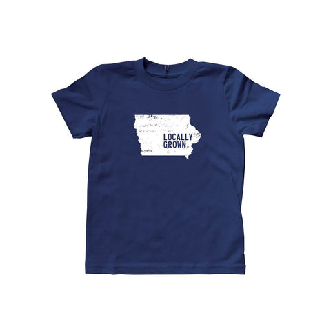 Kids Iowa Solid State Tee