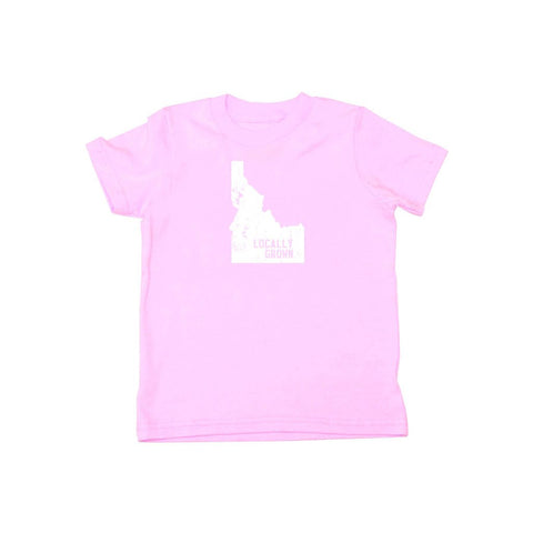 Locally Grown Clothing Co. Kids Idaho Solid State Tee