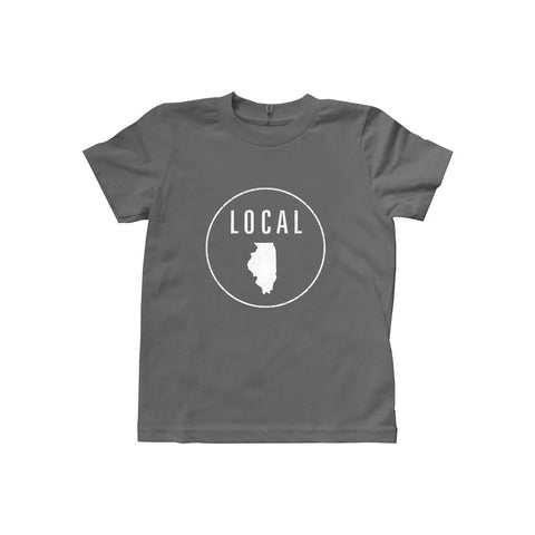 Locally Grown Clothing Co. Kids Illinois Local Tee