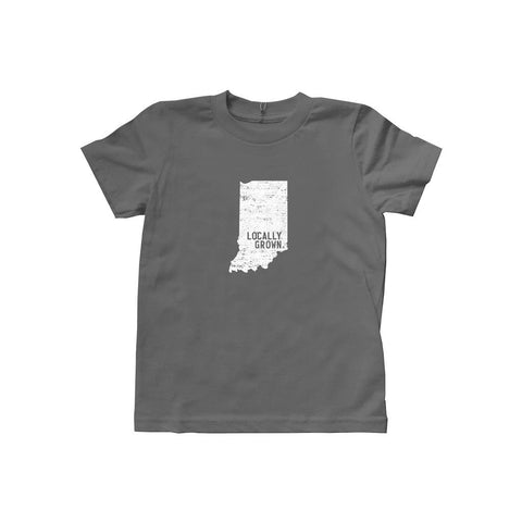 Locally Grown Clothing Co. Kids Indiana Solid State Tee