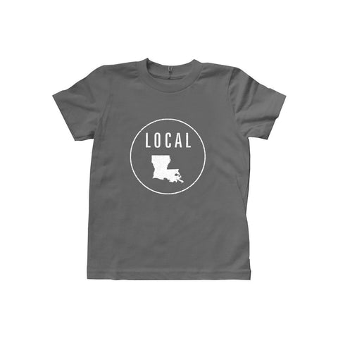 Locally Grown Clothing Co. Kids Louisiana Local Tee