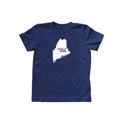 Locally Grown Clothing Co. Kids Maine Solid State Tee