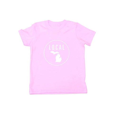 Locally Grown Clothing Co. Kids Michigan Local Tee