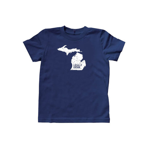 Kids Michigan Solid State Tee