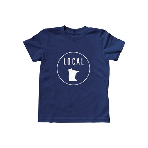 Locally Grown Clothing Co. Kids Minnesota Local Tee