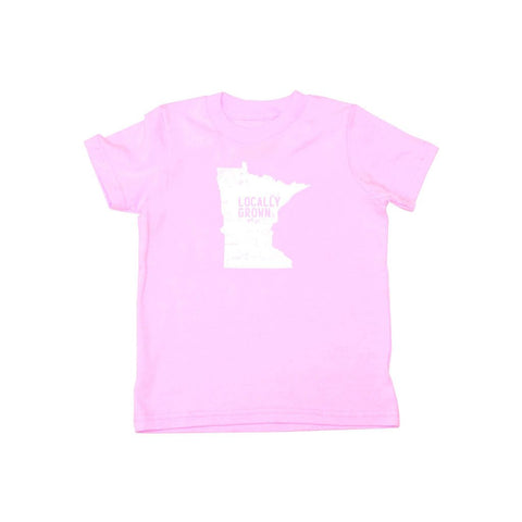Locally Grown Clothing Co. Kids Minnesota Solid State Tee