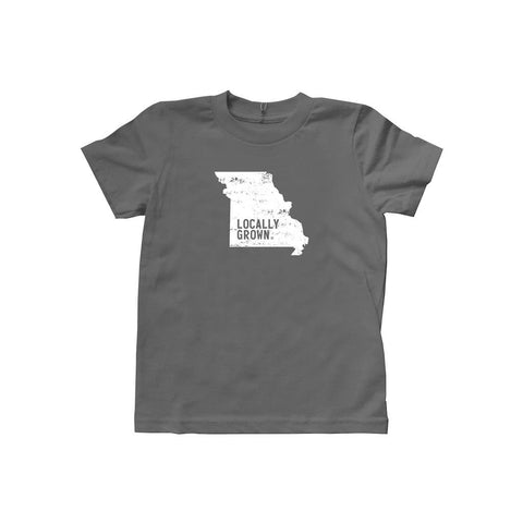 Locally Grown Clothing Co. Kids Missouri Solid State Tee