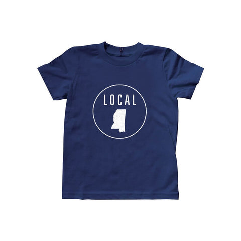 Locally Grown Clothing Co. Kids Mississippi Local Tee