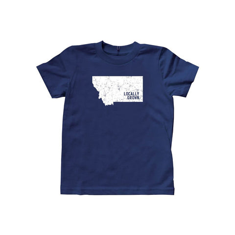 Locally Grown Clothing Co. Kids Montana Solid State Tee