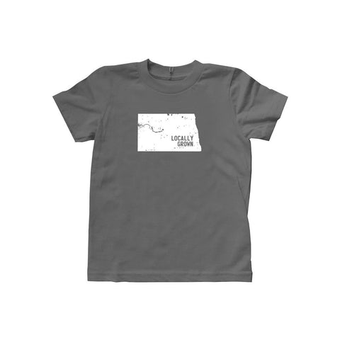 Locally Grown Clothing Co. Kids North Dakota Solid State Tee