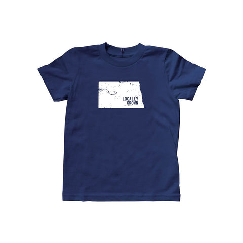 Kids North Dakota Solid State Tee