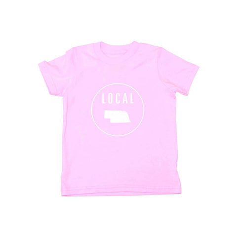 Locally Grown Clothing Co. Kids Nebraska Local Tee