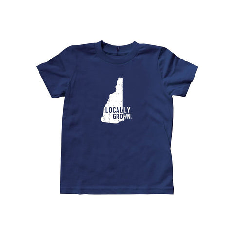 Locally Grown Clothing Co. Kids New Hampshire Solid State Tee