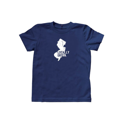 Locally Grown Clothing Co. Kids New Jersey Solid State Tee