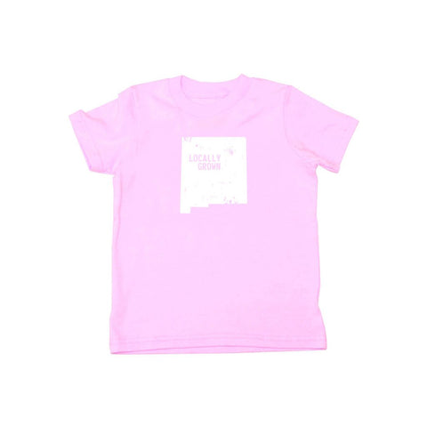 Locally Grown Clothing Co. Kids New Mexico Solid State Tee