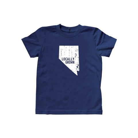 Locally Grown Clothing Co. Kids Nevada Solid State Tee