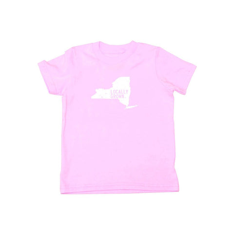 Locally Grown Clothing Co. Kids New York Solid State Tee