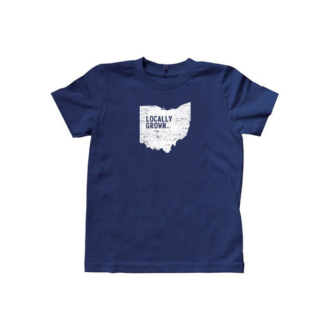 Locally Grown Clothing Co. Kids Ohio Solid State Tee