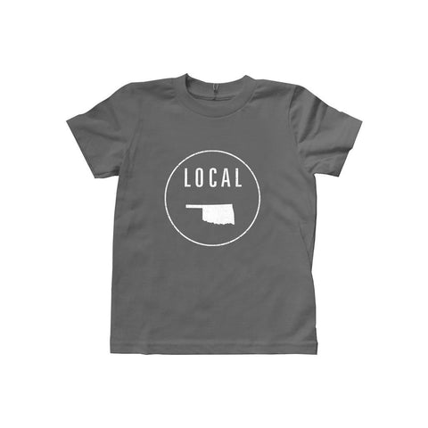 Locally Grown Clothing Co. Kids Oklahoma Local Tee