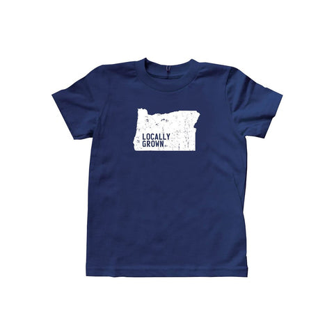 Locally Grown Clothing Co. Kids Oregon Solid State Tee