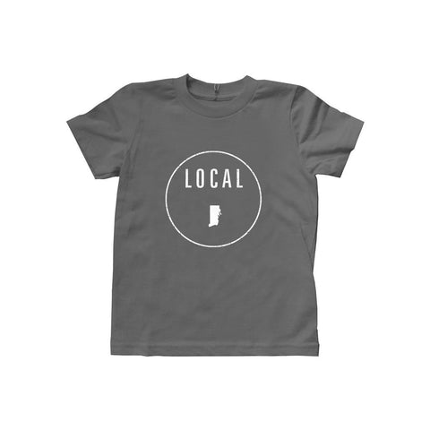 Locally Grown Clothing Co. Kids Rhode Island Local Tee
