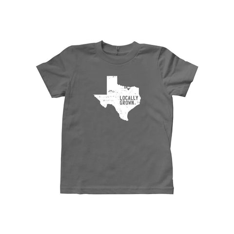 Locally Grown Clothing Co. Kids Texas Solid State Tee