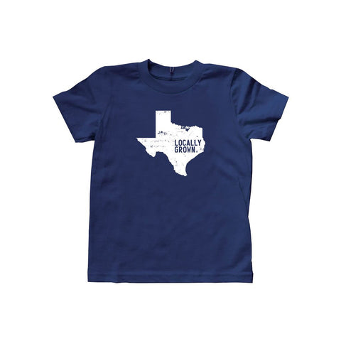 Kids Texas Solid State Tee