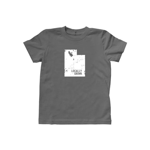 Locally Grown Clothing Co. Kids Utah Solid State Tee