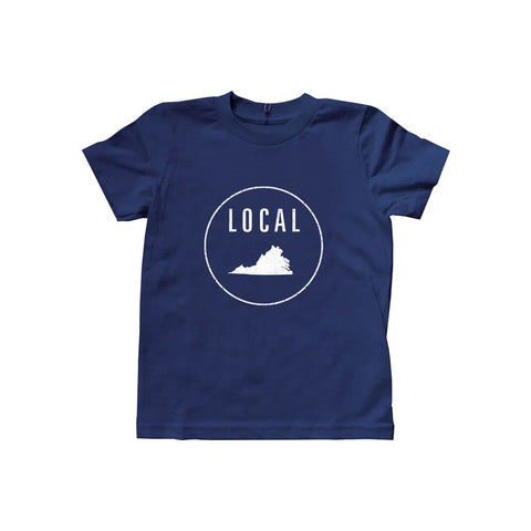 Locally Grown Clothing Co. Kids Virginia Local Tee