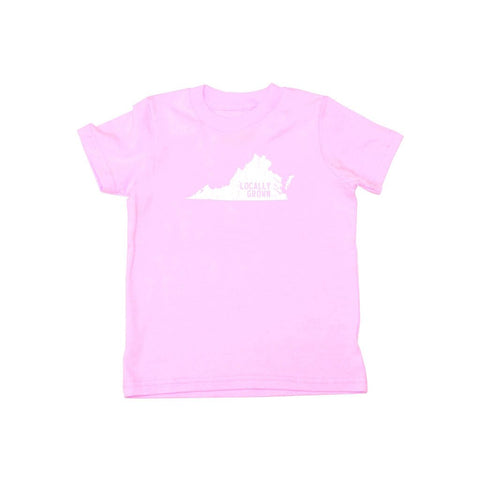 Locally Grown Clothing Co. Kids Virginia Solid State Tee