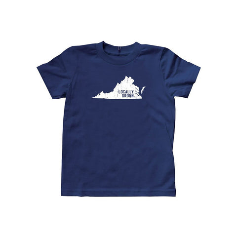 Kids Virginia Solid State Tee