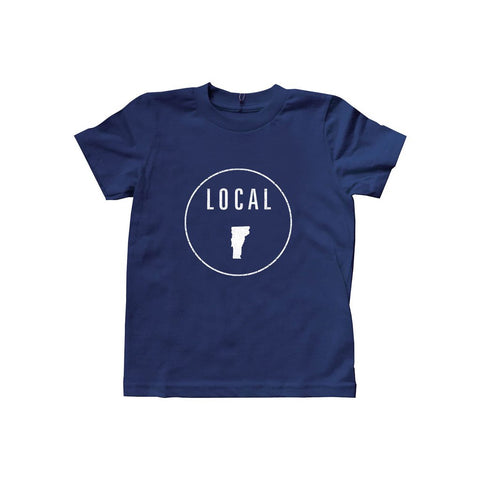 Locally Grown Clothing Co. Kids Vermont Local Tee