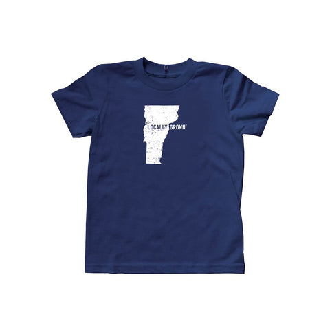Locally Grown Clothing Co. Kids Vermont Solid State Tee