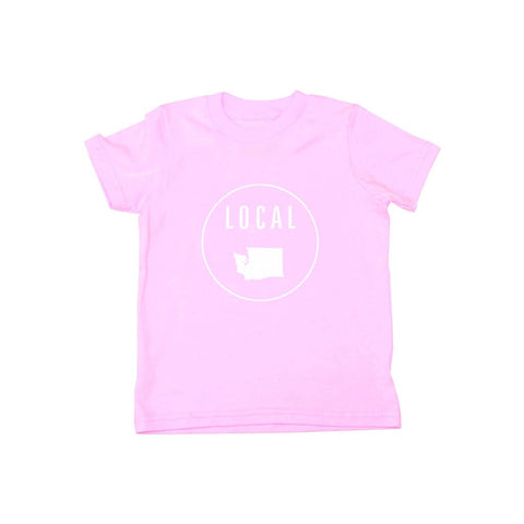 Locally Grown Clothing Co. Kids Washington Local Tee