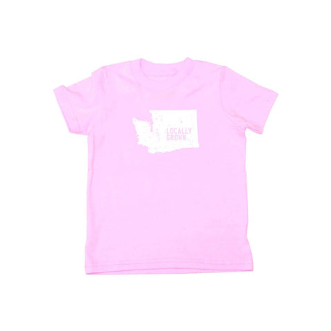 Locally Grown Clothing Co. Kids Washington Solid State Tee