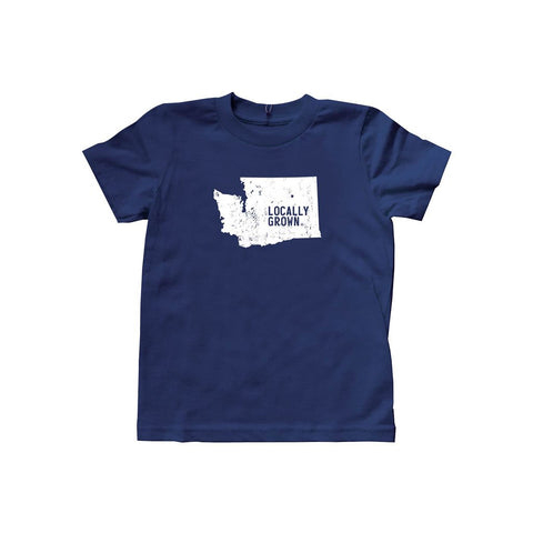 Kids Washington Solid State Tee