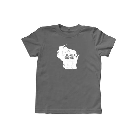 Locally Grown Clothing Co. Wisconsin Solid State Tee
