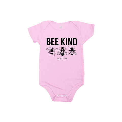 Locally Grown Clothing Co. Bee Kind One-piece