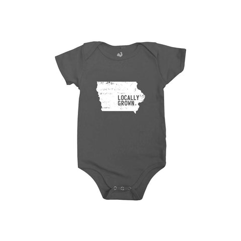 Locally Grown Clothing Co. Iowa Solid State One-piece