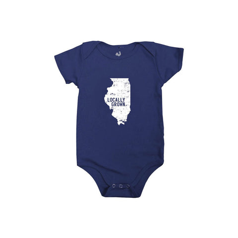 Locally Grown Clothing Co. Illinois Solid State One-piece