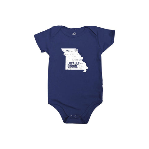 Locally Grown Clothing Co. Missouri Solid State One-piece