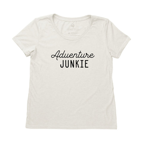 Locally Grown Clothing Co. Women's Adventure Junkie Tee