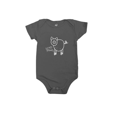 Locally Grown Clothing Co. Lil' Pig One-piece