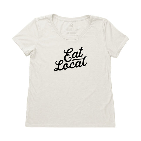 Locally Grown Clothing Co. Women's Eat Local Tee