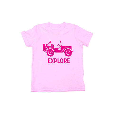 Locally Grown Clothing Co. Kids 4x4 Explore Tee