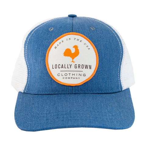 Locally Grown Clothing Co. LG Logo Trucker Cap