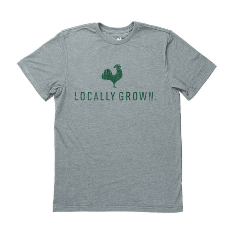 Locally Grown Clothing Co. Men's Rooster Logo Tee