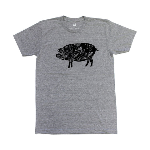 Locally Grown Clothing Co. Butcher Cuts Tee