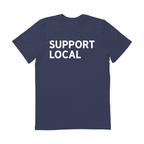 Men's Support Local Tee