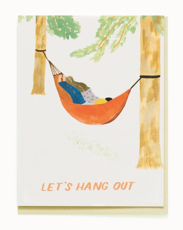 Small Adventures - Hammock Hang Out Card